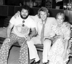 Carlos, Johnny Hallyday et Sylvie Vartan - Quai Baco