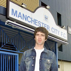 Noel Gallager, supporter de Manchester City