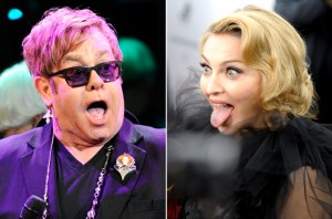 Elton John - Madonna