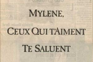 Mylène Farmer : ses fans lui préparent un cadeau dans le magazine Libération