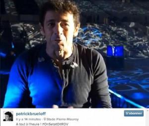 Patrick Bruel débarque sur Instagram le jour de son concert à Lille