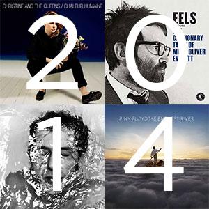 Top 15 des meilleurs albums de l'année 2014