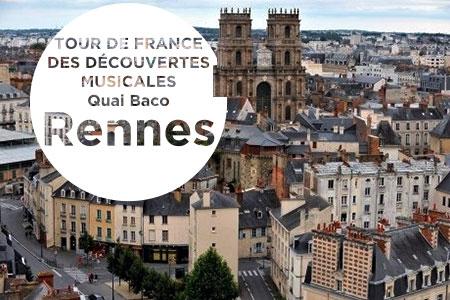 Tour de France des découvertes musicales : Rennes