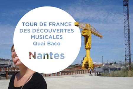 Tour de France des découvertes musicales : Nantes