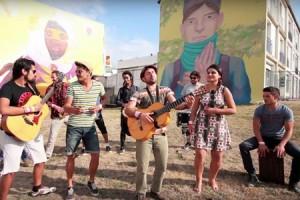 Lasmala Banda – « Día del sol » en session acoustique